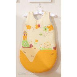 MAMO-TATO Śpiworek Ślimaki pomarańczowe
