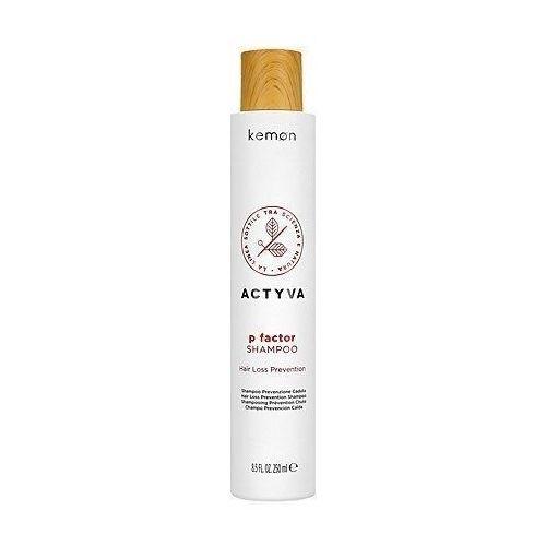 Mycie włosów, Kemon ACTYVA P Factor, szampon przeciw wypadaniu włosów 250ml
