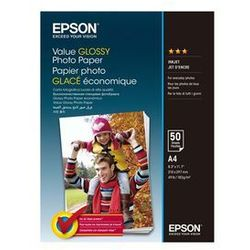 Papier EPSON Value Glossy Photo Paper A4 50 ark 200.g/m2