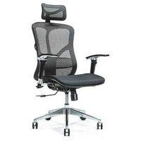 Fotele i krzesła biurowe, Ergonomiczny fotel biurowy ERGO 500 czarny