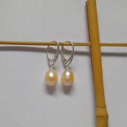 Kolczyki perły naturalne PP20C02-15
