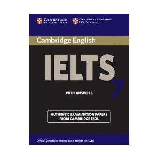 Książki do nauki języka, Cambridge IELTS 7 Student's Book with Answers (opr. miękka)