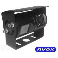 Kamery cofania, Samochodowa podwójna kamera cofania 4 PIN CCD w metalowej obudowie 12V 24V