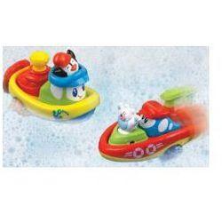 Nakręcona łódka - pływam i jeżdżę, 2 rodzaje