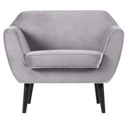Woood fotel rocco velvet jasnoszary 340454-149