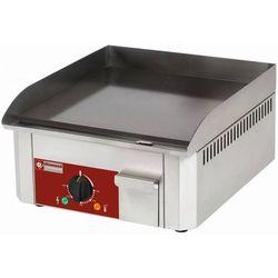 Płyta grillowa elektryczna gładka nastawna | 400x400mm | 3000W