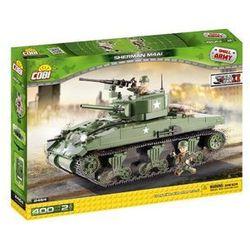 Cobi Klocki Mała Armia Sherman M4A1 Amerykański Czołg Średni 2464