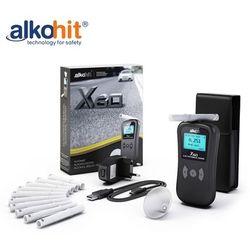Alkomat ALKOHIT X60 Elektorchemiczny bezustnikowy + Kalibracje + Etui