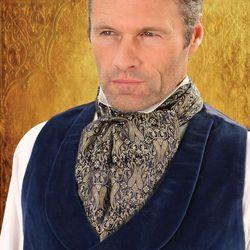 Krawat w stylu empire, steampunk ws10131702
