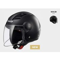 Kaski motocyklowe, KASK LS2 OF562 AIRFLOW SOLID BLACK
