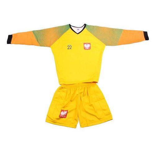 Piłka nożna, Komplet Replika Polska Fabiański 22 bramkarz żółty