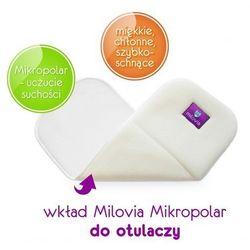 - MILOVIA - Wkład chłonny do otulacza lub pieluszki, wielowarstwowy MIKROPOLAR