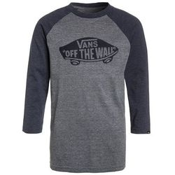 Vans OFF THE WALL RAGLAN BOYS Bluzka z długim rękawem heather grey/heather navy