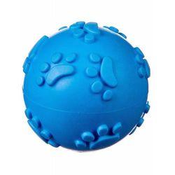 Piłka kauczukowa, miękka S - blue