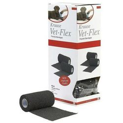 VET-Flex opaska samoprzylepna 10 cm x 4,5m opakowanie 10 szt czarne