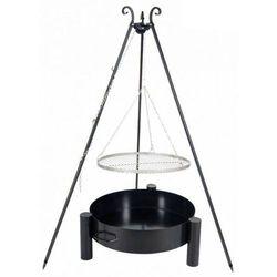 Grill ogrodowy FARMCOOK ruszt stal nierdzewna 50 cm+ palenisko ogrodowe PAN 36 60 cm