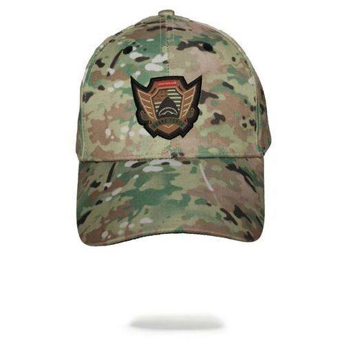 Nakrycia głowy i czapki, czapka z daszkiem SPRAYGROUND - Multicamo Hat (000) rozmiar: OS