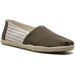 Espadryle TOMS - Classic 10013528 Tarmac Ivy League Stripes On Rope