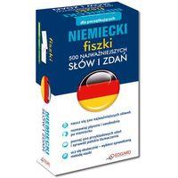 Książki do nauki języka, Niemiecki. Fiszki. 500 najważniejszych słów i zdań (opr. kartonowa)