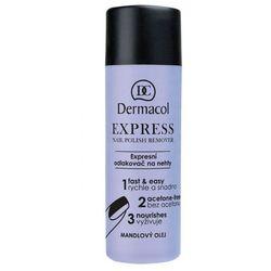 Dermacol Express zmywacz do paznokci 120 ml dla kobiet