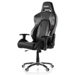 AKracing Premium V2 Carbon Krzesło gamingowe - Czarny - Skóra PU - 150 kg