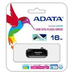 Pendrive ADATA DashDrive Durable 16GB (AUD320-16G-RBK) Darmowy odbiór w 20 miastach!