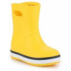 Crocs Crocband Rain Boot K 205827-734 - żółty