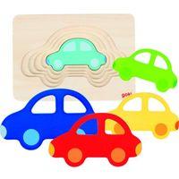 Puzzle, Puzzle warstwowe samochodzik, GOKI-57485