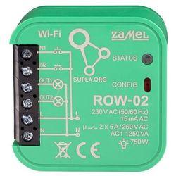 Sterownik Wi-Fi Zamel dwukanałowy typ: ROW-02