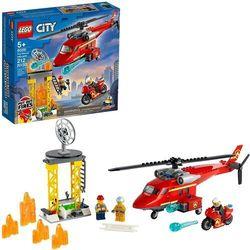 60281 STRAŻACKI HELIKOPTER RATUNKOWY (Fire Rescue Helicopter) KLOCKI LEGO CITY