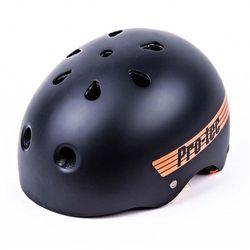 kask PRO-TEC - Classic Pro Bucky Satin Black/Orange (SATIN BLACK-ORANGE) rozmiar: M