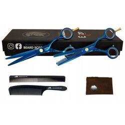 Degażówki + Nożyczki Fryzjerskie 5,5 Strzyżenie Bluos