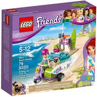Klocki dla dzieci, LEGO Friends, Plażowy skuter Mii, 41306