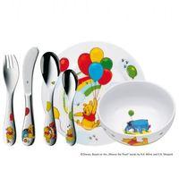 Sztućce dla dzieci, WMF - Kubuś Puchatek Zestaw obiadowy dla dzieci