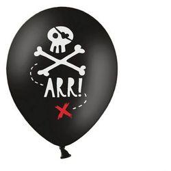 Balony urodzinowe Piraci- 30 cm - 5 szt. PartyDeco (-10%)