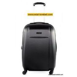 PUCCINI walizka duża z kolekcji ABS02 twarda 4 koła materiał ABS zamek szyfrowy