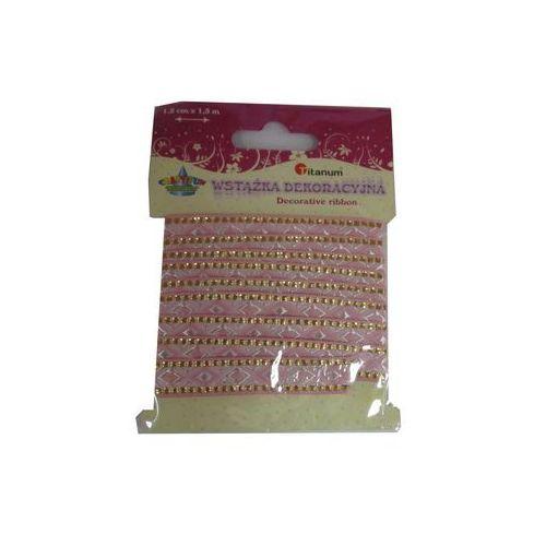 Kreatywne dla dzieci, Wstążka dekoracyjna różowa. 339430. - Titanum