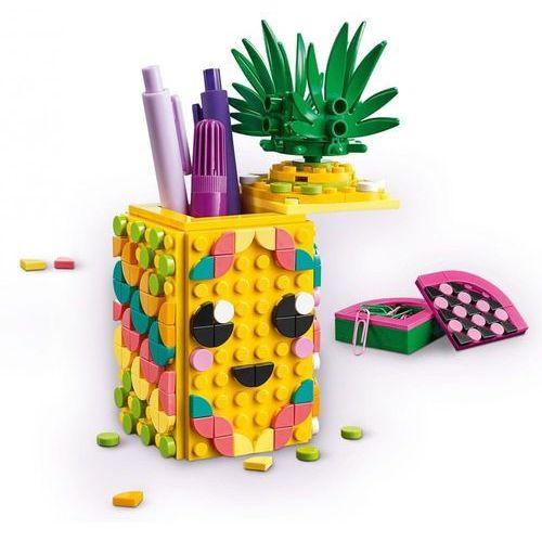 Długopisy, LEGO Klocki Pojemnik na długopisy w kształcie ananasa