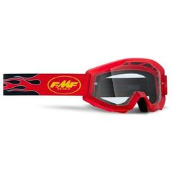 Gogle FMF Powercore Szyba Clear FLAME RED