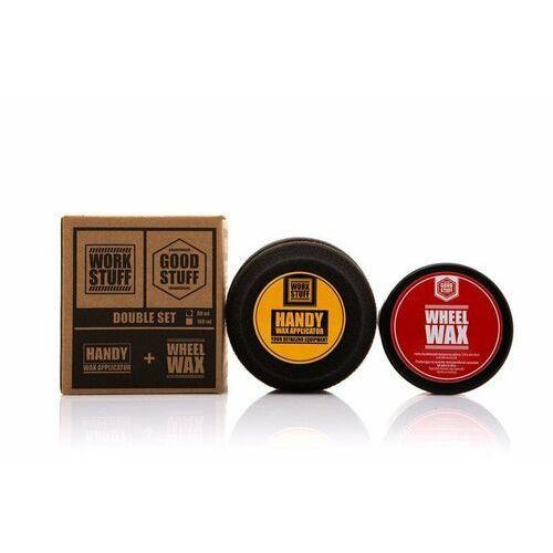 Wosk samochodowe, Good Stuff Wheel Wax 100ml wosk do felg + Handy Wax Applicator