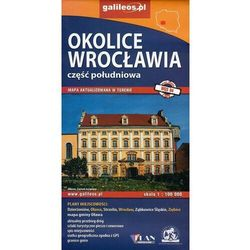 Okolice Wrocławia cz. południowa, 1:100 000 - Praca zbiorowa (opr. broszurowa)