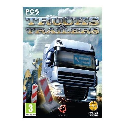 Gry na PC, Trucks & Trailers - K00187- Zamów do 16:00, wysyłka kurierem tego samego dnia!