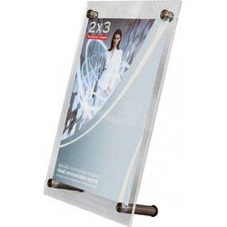 Tabliczka informacyjna stojąca EuroPLEX Portable 2x3 208x145mm