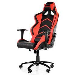 AKracing Player Red Krzesło gamingowe - Czarno-czerwony - Skóra PU - 150 kg