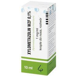 XYLOMETAZOLIN 0,1% krople do nosa 10 ml
