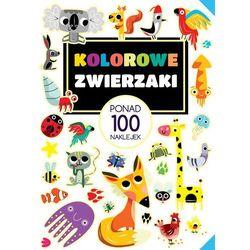 Kolorowe zwierzaki Ponad 100 naklejek