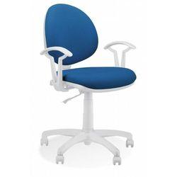 Krzesło obrotowe SMART WHITE TS02-K32 GTP27 - biurowe, fotel biurowy, obrotowy