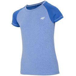 Koszulka sportowa dla dużych dziewcząt JTSD401A - NIEBIESKI