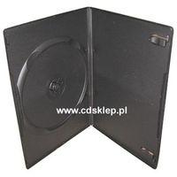 Pudełka i portfele na płyty, Etui plastikowe na 1DVD SLIM 7mm czarne
