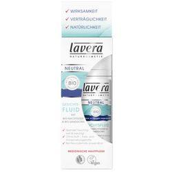 Lavera Neutral fluid nawilżający dla cery wrażliwej (Face Fluid Bio Evening Primrose Oil and Bio Buckthorn) 30 ml